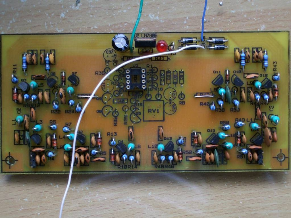 Building A Theremin Deak Software Electronic And Engineering Terms Transistor Envelope Detector Circuit Figure 31 Lpf